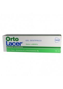 ORTOLACER GEL DENTIFRICO 75 ML MENTA 324376 Dentífricos - Enjuages