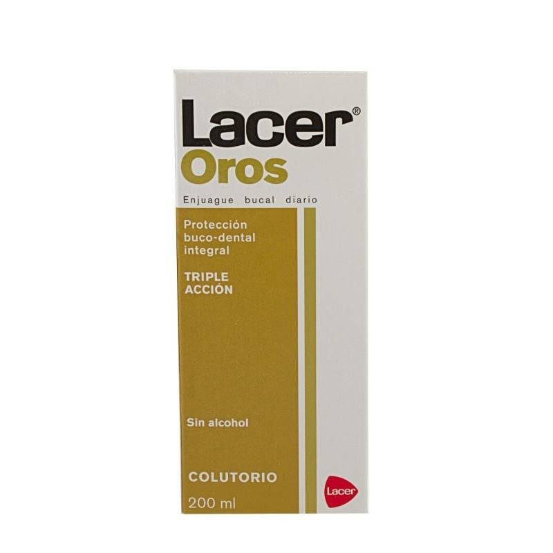 LACER OROS COLUTORIO 200 ML 349712 Dentífricos - Enjuages