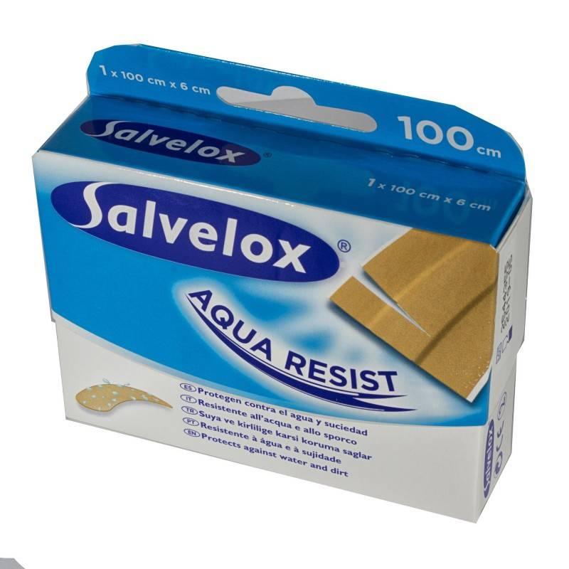 SALVELOX AQUA RESIST 1 MT X 6 CM 374009 Cortes-Heridas-Quemaduras