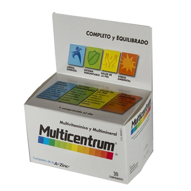MULTICENTRUM LUTEINA 30 COMPRIMIDOS 386003 Vitaminas - Minerales