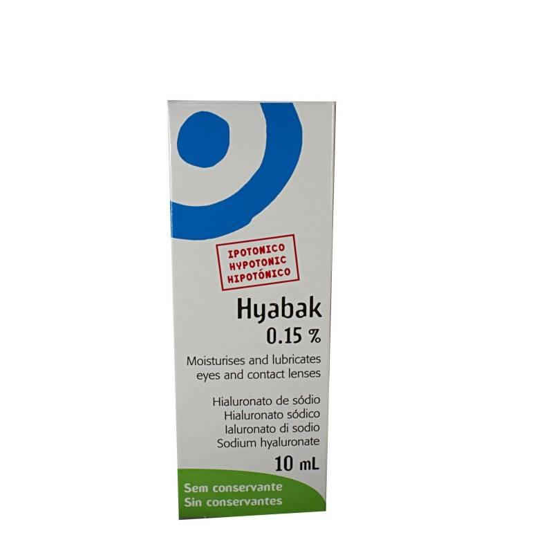HYABAK COLIRIO 10 ML 399774 Hidratación e Higiene