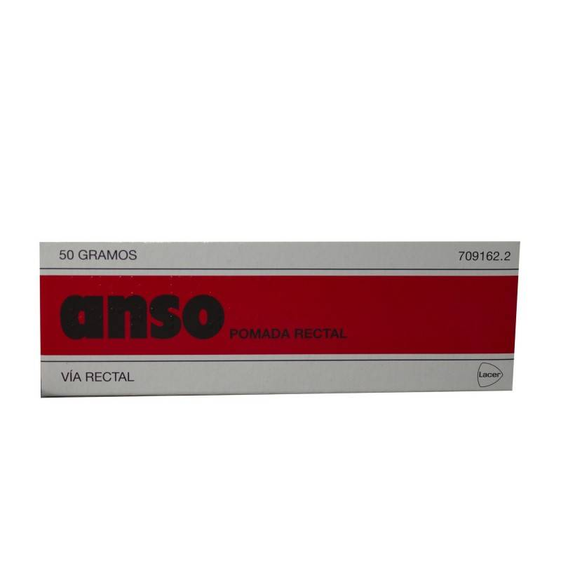 ANSO POMADA RECTAL 50 G 709162 Hemorroides