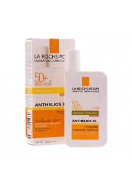 ANTHELIOS SPF 50+ FLUIDO -COLOR 50 ML 154884 Protector solar