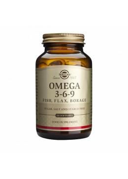 SOLGAR OMEGA 3-6-9 60 CAPSULAS 142027 Colesterol- Ácidos grasos