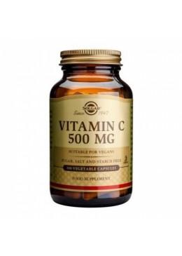 SOLGAR VITAMINA C 500 MG 100 CAPS 073260 Vitaminas - Minerales
