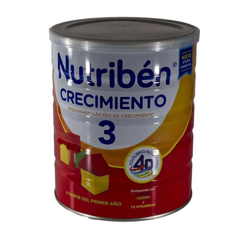 NUTRIBEN 3 CRECIMIENTO VITAMINADO 800 G 170204 Alimentación infantil