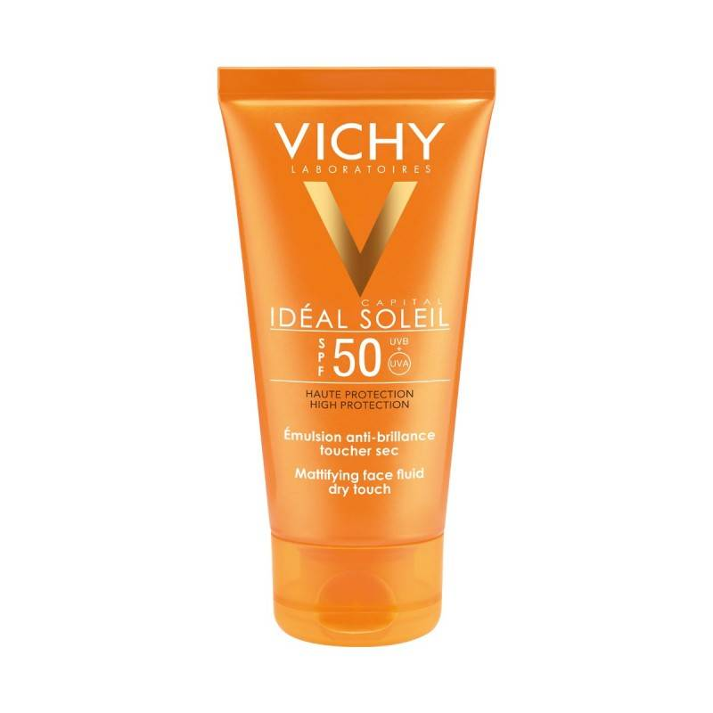 VICHY SOLAR SPF 50 ACABADO SECO 50ML 162082 Protector solar