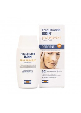 ISDIN FOTOULTRA 100 PREVENT FUSION FLUID 50 ML 163168 Protector solar