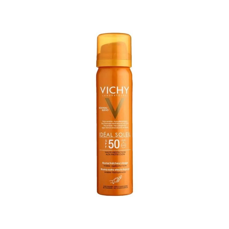 VICHY SOLAR SPF 50 BRUMA INVISIBLE 75 ML 182823 Protector solar
