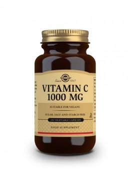 SOLGAR VITAMINA C 1000 MG 250 CAPSULAS 073281 Vitaminas - Minerales
