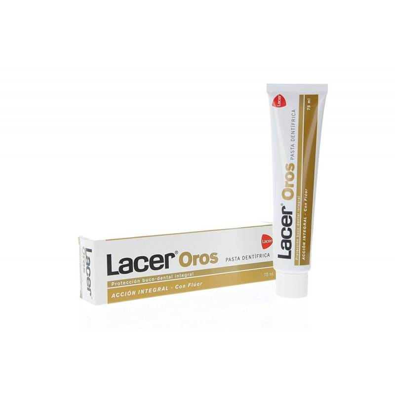 LACER OROS PASTA DENTAL 75 ML 396556 Dentífricos - Enjuages