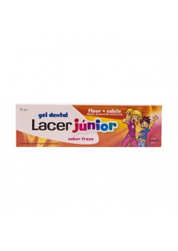 LACER JUNIOR FRESA GEL 75 ML 331978 Dentífricos - Enjuages