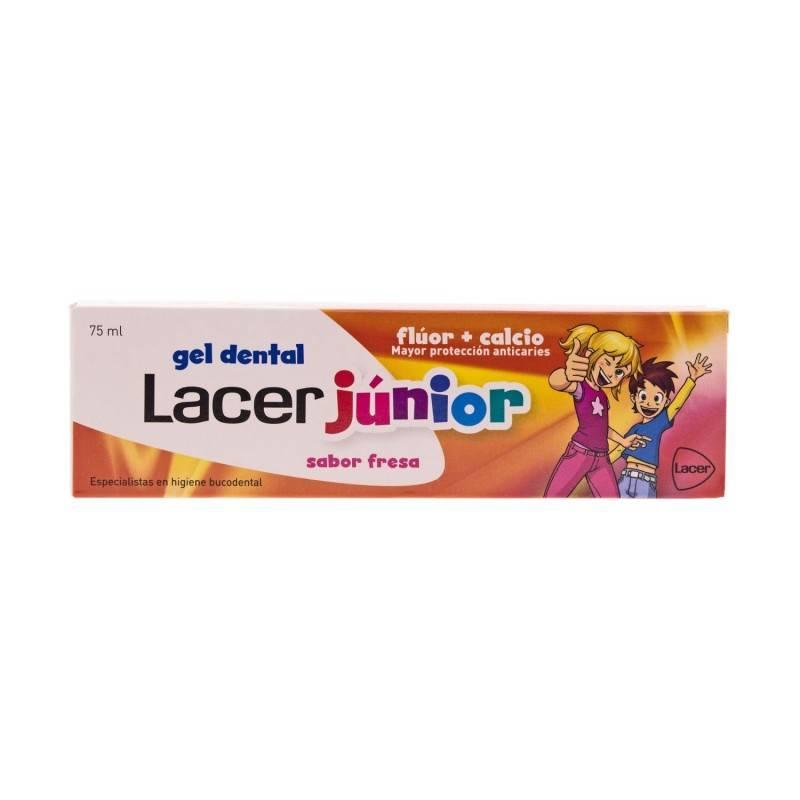 LACER JUNIOR FRESA GEL 75 ML 331978 Dentífricos - Enjuages