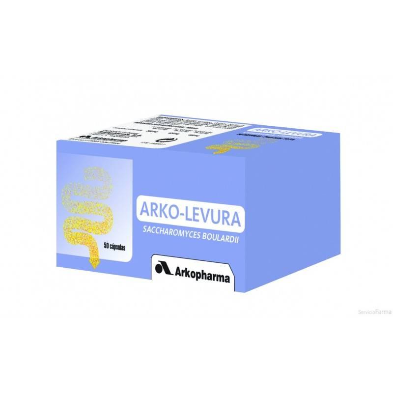 ARKOLEVURA 50 CAPSULAS 153541 Probióticos-Digestión