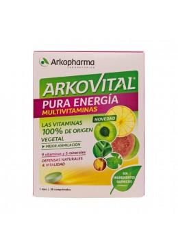 ARKOVITAL PURA ENERGIA 30 COMPRIMIDOS 181991 Vitaminas - Minerales