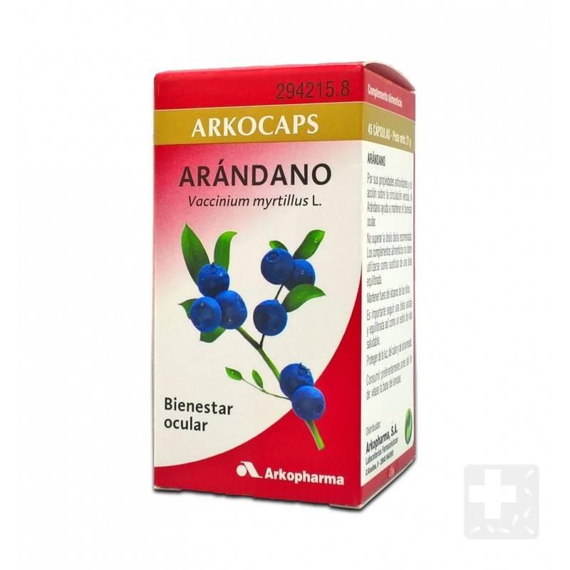 ARKOCAPSULAS ARANDANO FRUTO 45 CAPSULAS 294215 Genitourinario