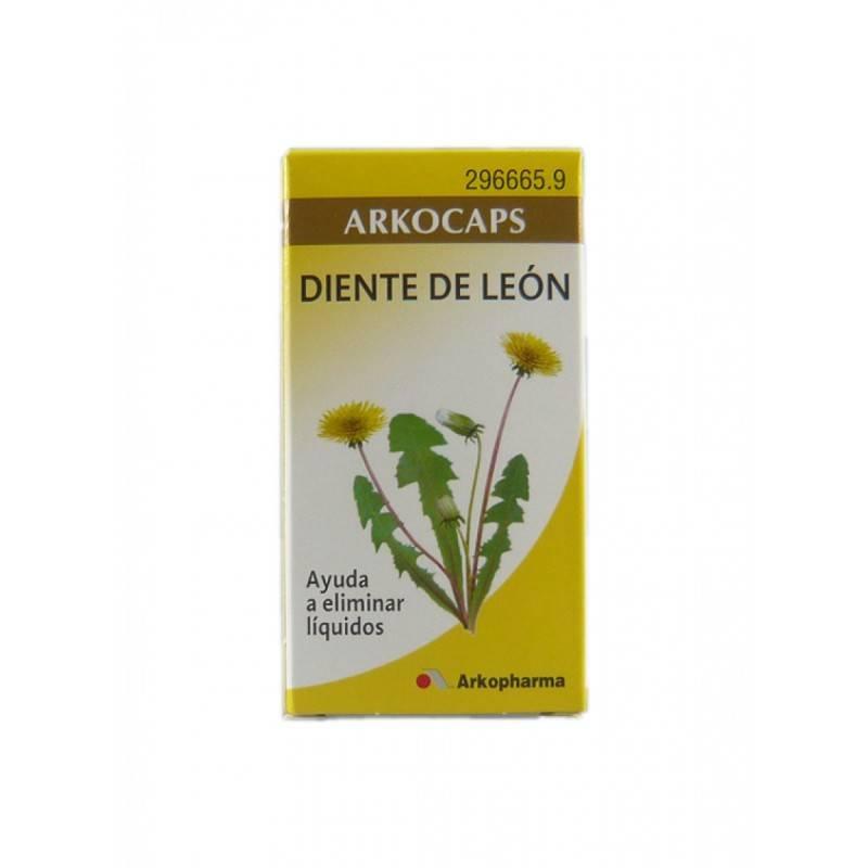 ARKOCAPSULAS DIENTE DE LEON 50 CAPSULAS 296665 Control Peso- Drenante