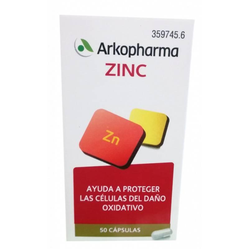 ARKOVITAL ZINC 50 CAPSULAS 359745 Vitaminas - Minerales