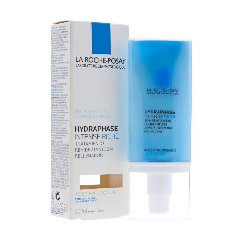 LA ROCHE POSAY HYDRAPHASE INTENSE RICA 50 ML 157651 Hidratantes-Nutritivas