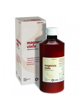 MAGNESIA CINFA 200 MG/ML SUSPENSION ORAL 300 G 737668 Laxantes