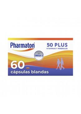 PHARMATON 50 PLUS 60 CAPSULAS 154541 Estimulantes- Energéticos