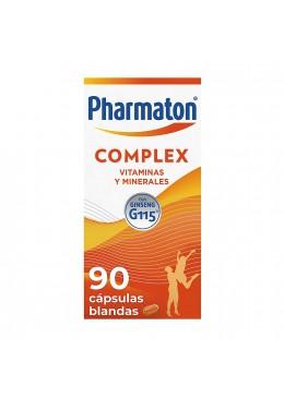 PHARMATON COMPLEX 90 CAPS 164332 Vitaminas - Minerales