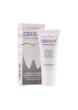 ODDENT A HIALURONICO GEL GINGIVAL 20 ML 156037 Tratamientos bucales