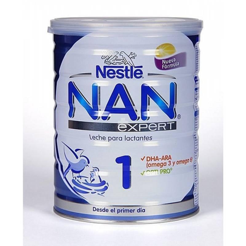 NAN 1 EXPERT LECHE 800 G NESTLE 156493 Alimentación infantil