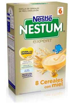 NESTLE NESTUM EXPERT 8 CEREALES CON MIEL 650 G 156500 Alimentación infantil