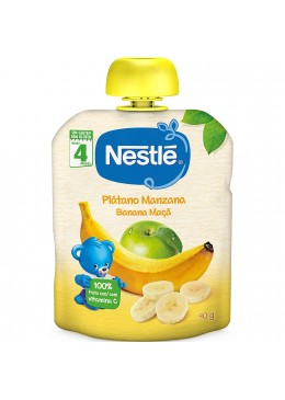 NESTLE NATURNES PLATANO MANZANA BOLSITA 90 G 173324 Alimentación infantil