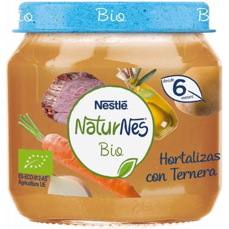 NESTLE NATURNES HORTALIZAS CON TERNERA 200GR 188547 Alimentación infantil