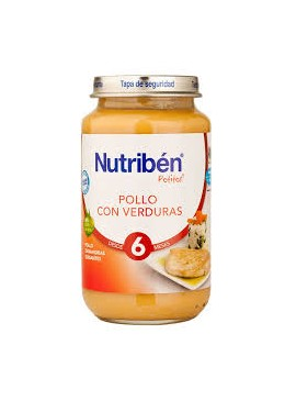 NESTLE POLLO CON VERDURAS DESDE 6 M 250 GR 374843 Alimentación infantil