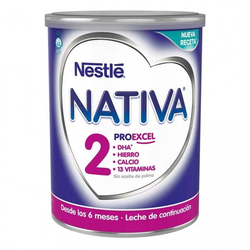 NATIVA-2 800 GRAMOS NESTLE 398115 Alimentación infantil