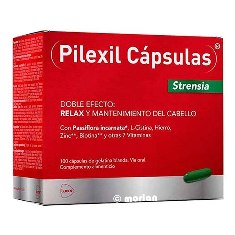 PILEXIL CAPSULAS STRENSIA 100 CAPSULAS 189638 Piel - Cabello- Uñas
