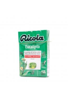 RICOLA CARAMELOS EUCALIPTUS SIN AZUCAR 173397 Garganta - Afonía