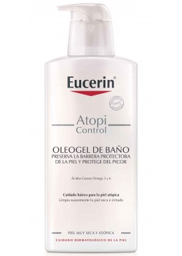EUCERIN ATOPICONTROL OLEOGEL DE DUCHA 400 ML 168769 Piel Atópica - Psoriasis