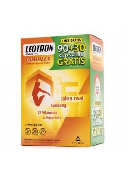 LEOTRON COMPLEX 90+30 CAPSULAS 083266 Vitaminas - Minerales
