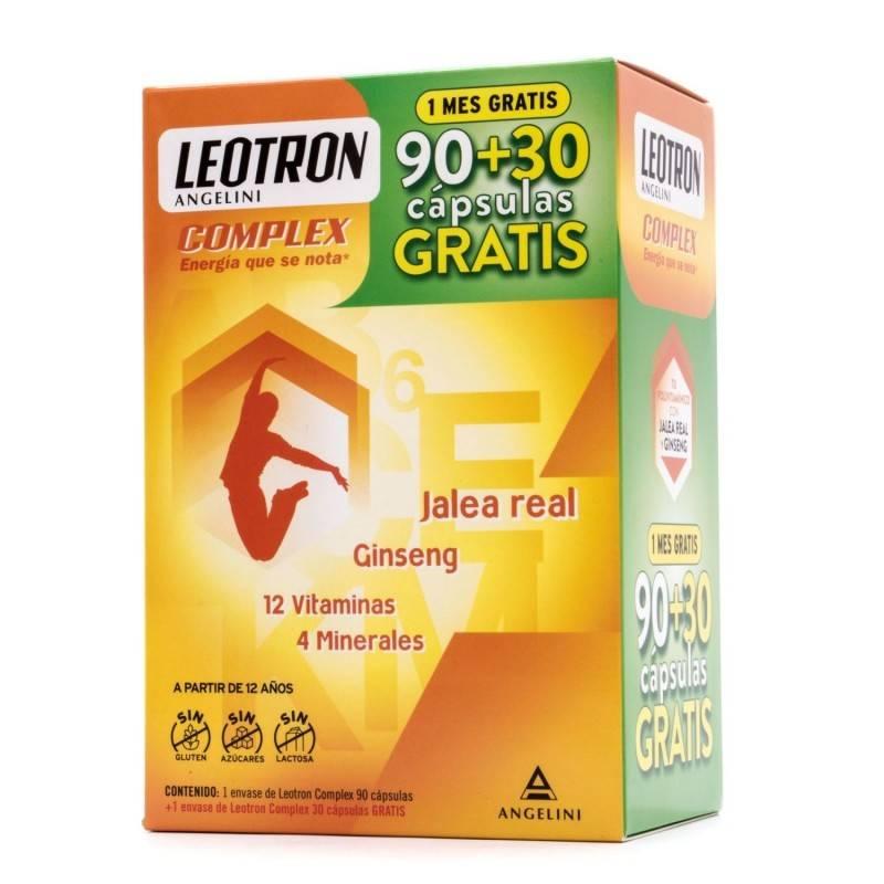 LEOTRON COMPLEX 90 +30 COMPRIMIDOS 083266 Vitaminas - Minerales