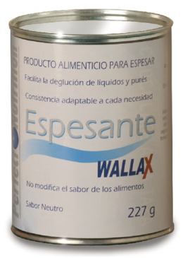 ESPESANTE WALLAX BOTE 227 G 115555 DIETÉTICA- DEPORTE