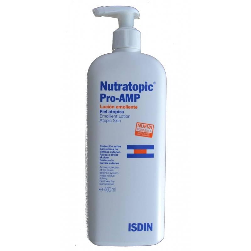 NUTRATOPIC PRO-AMP LOCION EMOLIENTE PIEL ATOPICA 150357 Piel Atópica - Psoriasis