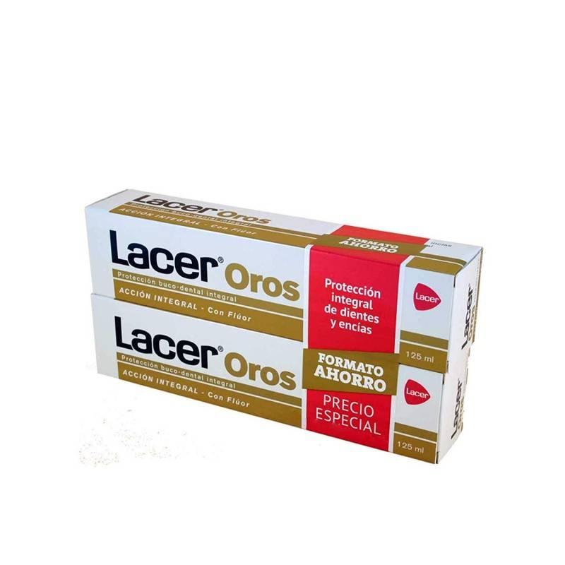 LACER PASTA OROS DUPLO 125 ML 043614 Dentífricos - Enjuages