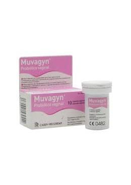 MUVAGYN PROBIOTICO VAGINAL 10 CAPS VAGINALES 156955 Ginecología