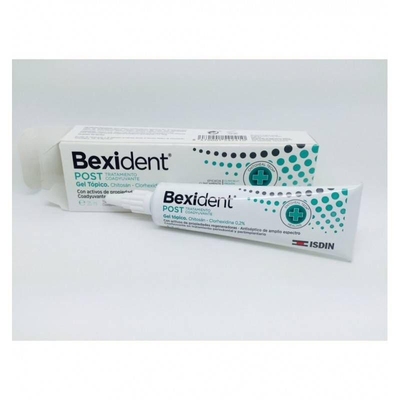 BEXIDENT POST GEL TOPICO 25ML 154241 Dentífricos - Enjuages