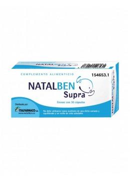 NATALBEN SUPRA 30 CAPSULAS 154653 Embarazo- Fertilidad- Lactancia