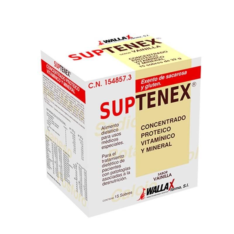 SUPTENEX 15 SOBRES VAINILLA 154857 Dieta adultos especiales