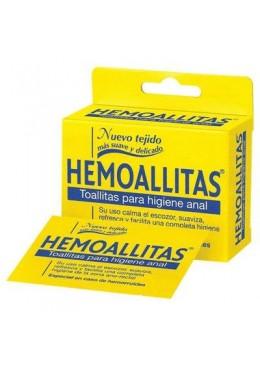 HEMOALLITAS 15 UNIDADES 156273 Accesorios, Jabón, toallitas intímas