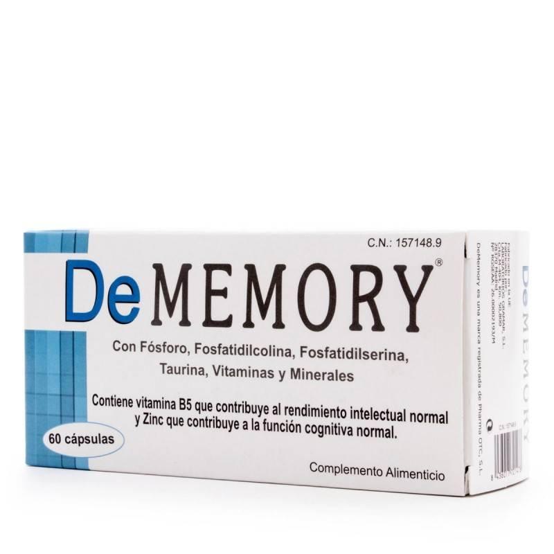 DEMEMORY 60 CAPS 157148 Estudio- Memoria