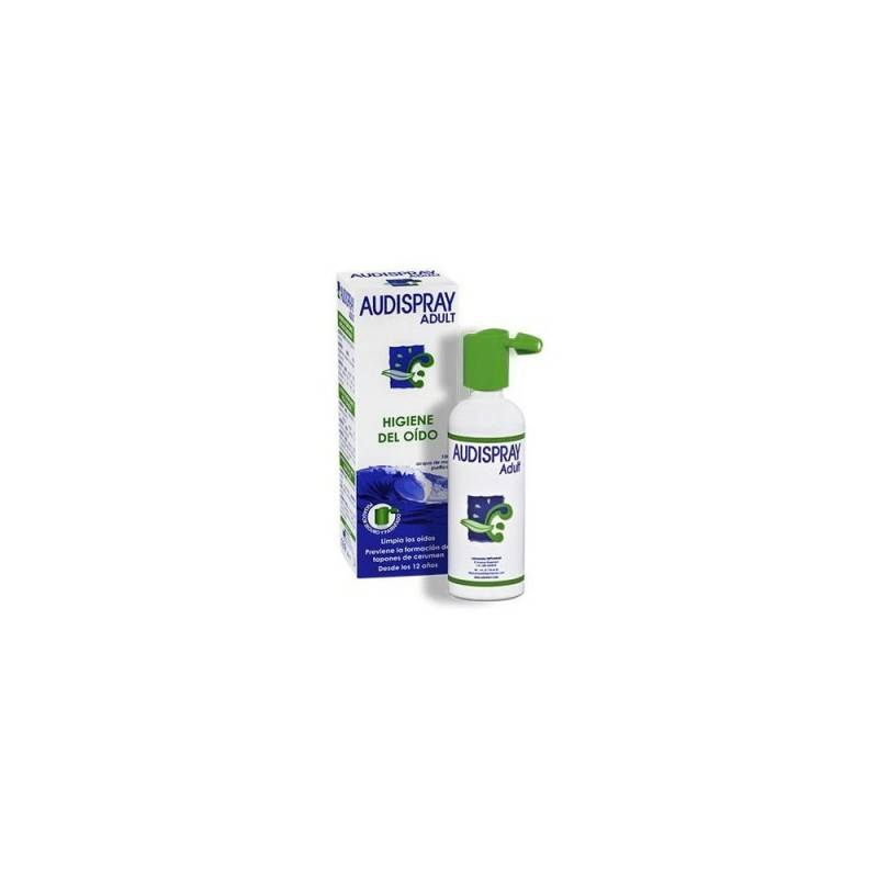 AUDISPRAY SOLUCION LIMPIEZA OIDOS 50 ML 158022 Higiene auditiva y nasal