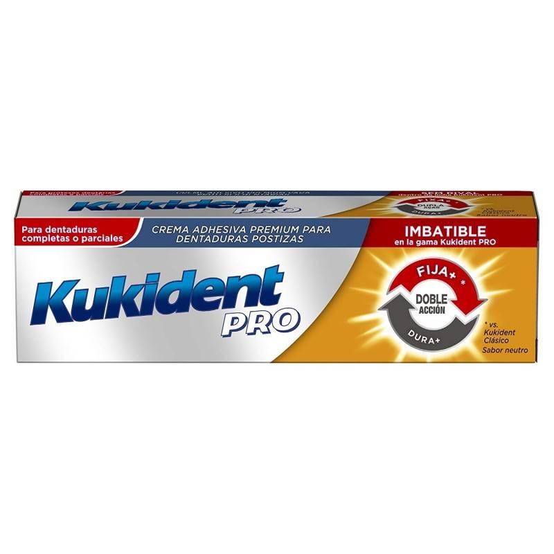 KUKIDENT PRO DOBLE ACCION 40 G 161880 Dentadura- Fijación- Limpieza