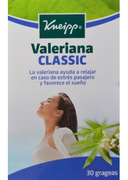 KNEIPP VALERIANA 30 GRAGEAS 163578 Estrés- Insomnio